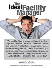 Ideal Facility Manager Saying