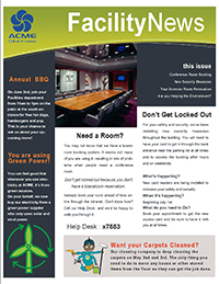 Facility Newsletter